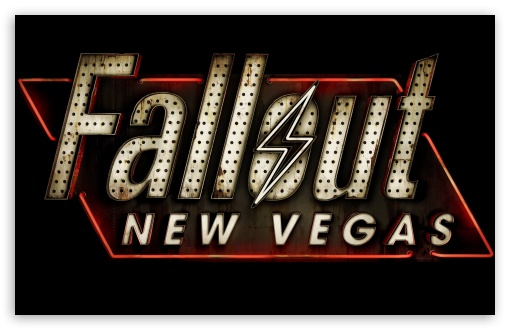 Fallout New Vegas Logo ❤ 4K UHD Wallpaper for Wide 16:10 5:3 Widescreen WHXGA WQXGA WUXGA WXGA WGA ; 4K UHD 16:9 Ultra High Definition 2160p 1440p 1080p 900p 720p ; Mobile 5:3 16:9 - WGA 2160p 1440p 1080p 900p 720p ;