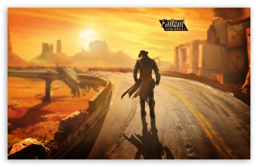 Fallout New Vegas Lonesome Road HD wallpaper for Wide 16:10 5:3 Widescreen WHXGA WQXGA WUXGA WXGA WGA ; HD 16:9 High Definition WQHD QWXGA 1080p 900p 720p QHD nHD ; Standard 4:3 5:4 3:2 Fullscreen UXGA XGA SVGA QSXGA SXGA DVGA HVGA HQVGA devices ( Apple PowerBook G4 iPhone 4 3G 3GS iPod Touch ) ; Tablet 1:1 ; iPad 1/2/Mini ; Mobile 4:3 5:3 3:2 16:9 5:4 - UXGA XGA SVGA WGA DVGA HVGA HQVGA devices ( Apple PowerBook G4 iPhone 4 3G 3GS iPod Touch ) WQHD QWXGA 1080p 900p 720p QHD nHD QSXGA SXGA ;