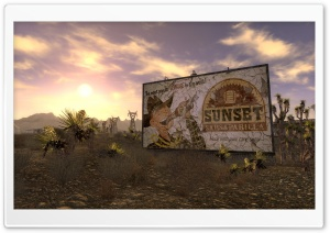 Fallout New Vegas Screenshot HD Wide Wallpaper for Widescreen