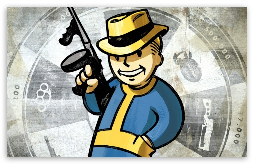 Fallout New Vegas, Vault Boy ❤ 4K UHD Wallpaper for Wide 16:10 5:3 Widescreen WHXGA WQXGA WUXGA WXGA WGA ; 4K UHD 16:9 Ultra High Definition 2160p 1440p 1080p 900p 720p ; Standard 5:4 Fullscreen QSXGA SXGA ; Mobile 5:3 16:9 5:4 - WGA 2160p 1440p 1080p 900p 720p QSXGA SXGA ;