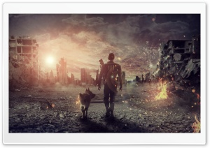 Fallout Photo Manipulation HD Wide Wallpaper for Widescreen