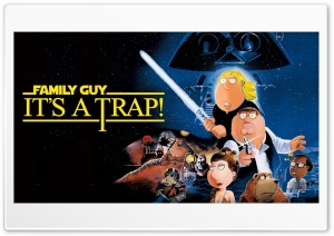 Family Guy Its A Trap HD Wide Wallpaper for Widescreen
