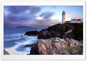 Fanad Lighthouse HD Wide Wallpaper for 4K UHD Widescreen desktop & smartphone