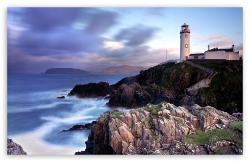 Fanad Lighthouse HD wallpaper for Wide 16:10 5:3 Widescreen WHXGA WQXGA WUXGA WXGA WGA ; HD 16:9 High Definition WQHD QWXGA 1080p 900p 720p QHD nHD ; Standard 4:3 5:4 3:2 Fullscreen UXGA XGA SVGA QSXGA SXGA DVGA HVGA HQVGA devices ( Apple PowerBook G4 iPhone 4 3G 3GS iPod Touch ) ; Tablet 1:1 ; iPad 1/2/Mini ; Mobile 4:3 5:3 3:2 16:9 5:4 - UXGA XGA SVGA WGA DVGA HVGA HQVGA devices ( Apple PowerBook G4 iPhone 4 3G 3GS iPod Touch ) WQHD QWXGA 1080p 900p 720p QHD nHD QSXGA SXGA ;