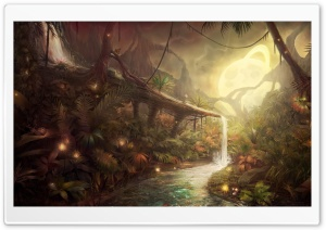 Fantastic Jungle HD Wide Wallpaper for Widescreen