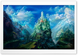 Fantasy Art Scenery by Chen Wei HD Wide Wallpaper for Widescreen
