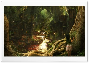 Fantasy Art Scenery by Phil McDarby HD Wide Wallpaper for Widescreen