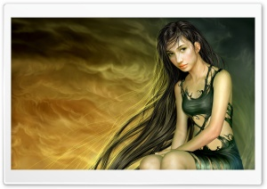 Fantasy CG Art Ultra HD Wallpaper for 4K UHD Widescreen desktop, tablet & smartphone