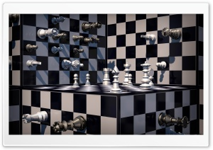 Fantasy Chess Art HD Wide Wallpaper for Widescreen