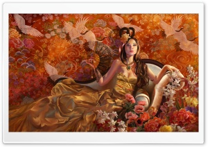 Fantasy Girl 11 HD Wide Wallpaper for Widescreen