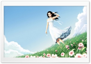 Fantasy Girl 65 HD Wide Wallpaper for Widescreen