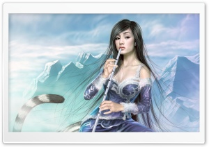 Fantasy Girl 7 HD Wide Wallpaper for Widescreen