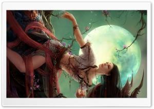 Fantasy Girl 70 HD Wide Wallpaper for 4K UHD Widescreen desktop & smartphone