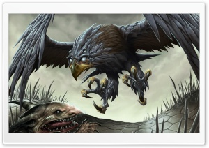 Fantasy Hawk HD Wide Wallpaper for Widescreen