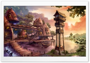 Fantasy Land HD Wide Wallpaper for Widescreen