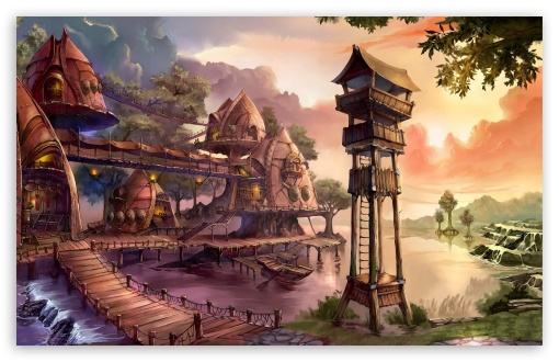 Chinese Fantasy Art Wide Wallpapers
