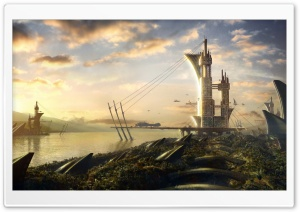 Fantasy Lands 16 HD Wide Wallpaper for Widescreen