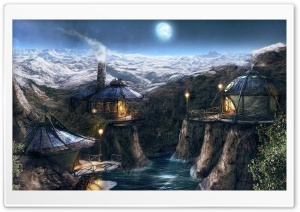 Fantasy Lands 50 HD Wide Wallpaper for Widescreen