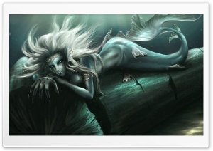 Fantasy Mermaid Art HD Wide Wallpaper for Widescreen