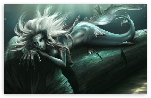 Fantasy Mermaid Art HD wallpaper for Wide 16:10 5:3 Widescreen WHXGA WQXGA WUXGA WXGA WGA ; HD 16:9 High Definition WQHD QWXGA 1080p 900p 720p QHD nHD ; Standard 3:2 Fullscreen DVGA HVGA HQVGA devices ( Apple PowerBook G4 iPhone 4 3G 3GS iPod Touch ) ; Mobile 5:3 3:2 16:9 - WGA DVGA HVGA HQVGA devices ( Apple PowerBook G4 iPhone 4 3G 3GS iPod Touch ) WQHD QWXGA 1080p 900p 720p QHD nHD ;