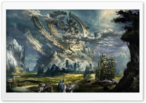 Fantasy Scenery HD Wide Wallpaper for Widescreen