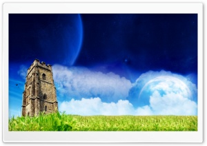 Fantasy Tower HD Wide Wallpaper for Widescreen