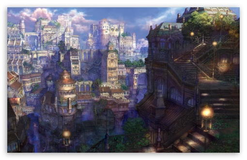 Fantasy Town HD wallpaper for Wide 16:10 5:3 Widescreen WHXGA WQXGA WUXGA WXGA WGA ; HD 16:9 High Definition WQHD QWXGA 1080p 900p 720p QHD nHD ; Standard 4:3 5:4 3:2 Fullscreen UXGA XGA SVGA QSXGA SXGA DVGA HVGA HQVGA devices ( Apple PowerBook G4 iPhone 4 3G 3GS iPod Touch ) ; Tablet 1:1 ; iPad 1/2/Mini ; Mobile 4:3 5:3 3:2 16:9 5:4 - UXGA XGA SVGA WGA DVGA HVGA HQVGA devices ( Apple PowerBook G4 iPhone 4 3G 3GS iPod Touch ) WQHD QWXGA 1080p 900p 720p QHD nHD QSXGA SXGA ;