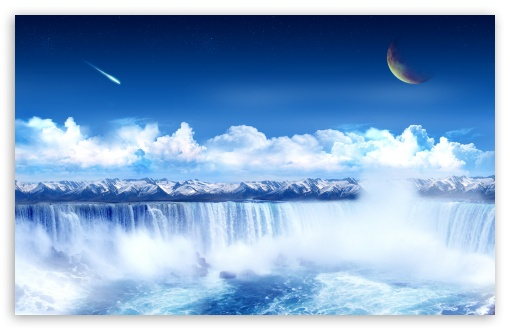 Fantasy Waterfall HD wallpaper for Wide 16:10 5:3 Widescreen WHXGA WQXGA WUXGA WXGA WGA ; Standard 4:3 3:2 Fullscreen UXGA XGA SVGA DVGA HVGA HQVGA devices ( Apple PowerBook G4 iPhone 4 3G 3GS iPod Touch ) ; Tablet 1:1 ; iPad 1/2/Mini ; Mobile 4:3 5:3 3:2 16:9 5:4 - UXGA XGA SVGA WGA DVGA HVGA HQVGA devices ( Apple PowerBook G4 iPhone 4 3G 3GS iPod Touch ) WQHD QWXGA 1080p 900p 720p QHD nHD QSXGA SXGA ;