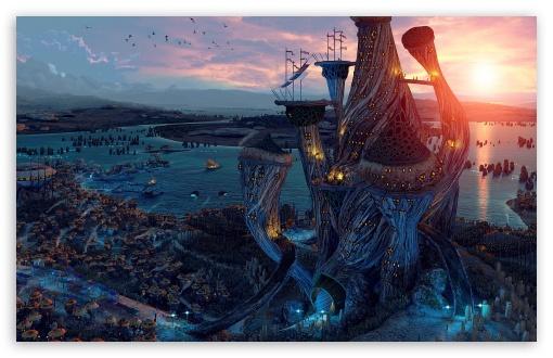 40 Hd Fantasy Ipad Wallpapers: Fantasy World Art 4K HD Desktop Wallpaper For 4K Ultra HD