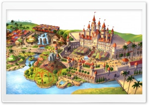 Fantasyland HD Wide Wallpaper for Widescreen