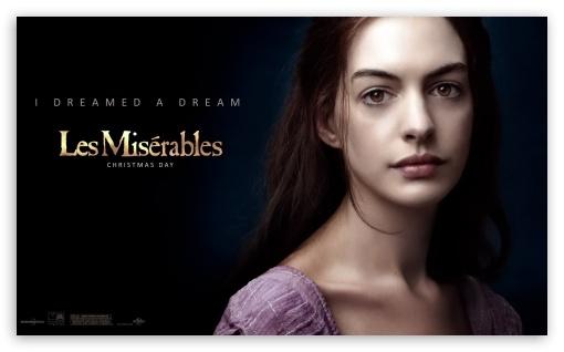 Fantine - Les Miserables 2012 HD wallpaper for Wide 5:3 Widescreen WGA ; HD 16:9 High Definition WQHD QWXGA 1080p 900p 720p QHD nHD ; Mobile 5:3 16:9 - WGA WQHD QWXGA 1080p 900p 720p QHD nHD ;