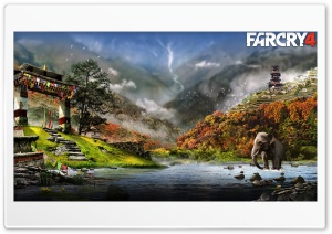 Far Cry 4 HD Wide Wallpaper for 4K UHD Widescreen desktop & smartphone