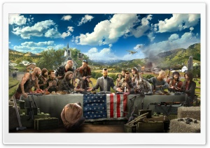 Far Cry 5 HD Wide Wallpaper for 4K UHD Widescreen desktop & smartphone
