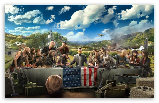 Download Far Cry 5 HD Wallpaper