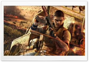 Far Cry 2 3 HD Wide Wallpaper for Widescreen