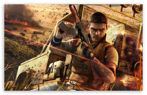 Far Cry 2 3 HD wallpaper for Wide 16:10 5:3 Widescreen WHXGA WQXGA WUXGA WXGA WGA ; HD 16:9 High Definition WQHD QWXGA 1080p 900p 720p QHD nHD ; Standard 4:3 5:4 3:2 Fullscreen UXGA XGA SVGA QSXGA SXGA DVGA HVGA HQVGA devices ( Apple PowerBook G4 iPhone 4 3G 3GS iPod Touch ) ; Tablet 1:1 ; iPad 1/2/Mini ; Mobile 4:3 5:3 3:2 16:9 5:4 - UXGA XGA SVGA WGA DVGA HVGA HQVGA devices ( Apple PowerBook G4 iPhone 4 3G 3GS iPod Touch ) WQHD QWXGA 1080p 900p 720p QHD nHD QSXGA SXGA ;