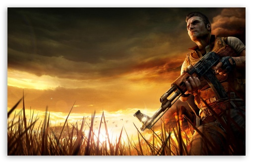 Far Cry 2 4 HD wallpaper for Wide 16:10 5:3 Widescreen WHXGA WQXGA WUXGA WXGA WGA ; HD 16:9 High Definition WQHD QWXGA 1080p 900p 720p QHD nHD ; Standard 4:3 5:4 3:2 Fullscreen UXGA XGA SVGA QSXGA SXGA DVGA HVGA HQVGA devices ( Apple PowerBook G4 iPhone 4 3G 3GS iPod Touch ) ; Tablet 1:1 ; iPad 1/2/Mini ; Mobile 4:3 5:3 3:2 16:9 5:4 - UXGA XGA SVGA WGA DVGA HVGA HQVGA devices ( Apple PowerBook G4 iPhone 4 3G 3GS iPod Touch ) WQHD QWXGA 1080p 900p 720p QHD nHD QSXGA SXGA ;