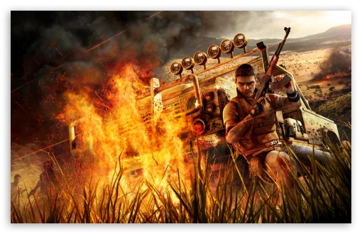 Far Cry 2 Fire ❤ 4K UHD Wallpaper for Wide 16:10 5:3 Widescreen WHXGA WQXGA WUXGA WXGA WGA ; 4K UHD 16:9 Ultra High Definition 2160p 1440p 1080p 900p 720p ; UHD 16:9 2160p 1440p 1080p 900p 720p ; Standard 4:3 5:4 3:2 Fullscreen UXGA XGA SVGA QSXGA SXGA DVGA HVGA HQVGA ( Apple PowerBook G4 iPhone 4 3G 3GS iPod Touch ) ; iPad 1/2/Mini ; Mobile 4:3 5:3 3:2 16:9 5:4 - UXGA XGA SVGA WGA DVGA HVGA HQVGA ( Apple PowerBook G4 iPhone 4 3G 3GS iPod Touch ) 2160p 1440p 1080p 900p 720p QSXGA SXGA ;
