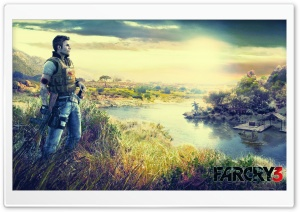 Far Cry 3 2012 HD Wide Wallpaper for Widescreen
