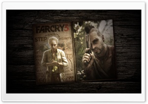 Far Cry 3 - Old Book HD Wide Wallpaper for Widescreen