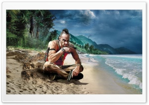 Far Cry 3 Vaas HD Wide Wallpaper for 4K UHD Widescreen desktop & smartphone