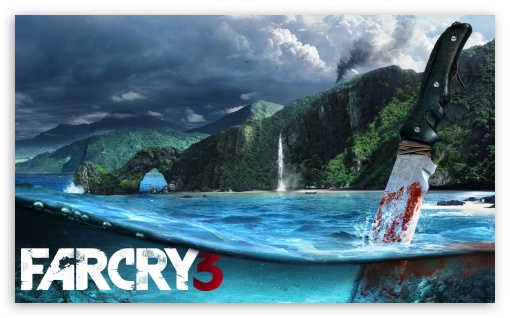 Far Cry 3 (Video Game) HD wallpaper for Wide 5:3 Widescreen WGA ; HD 16:9 High Definition WQHD QWXGA 1080p 900p 720p QHD nHD ; Mobile 5:3 16:9 - WGA WQHD QWXGA 1080p 900p 720p QHD nHD ;