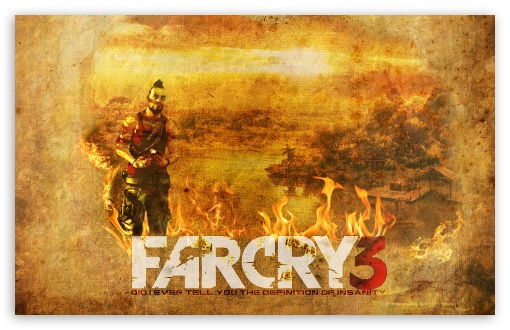 Far Cry 3 HD wallpaper for Wide 16:10 5:3 Widescreen WHXGA WQXGA WUXGA WXGA WGA ; HD 16:9 High Definition WQHD QWXGA 1080p 900p 720p QHD nHD ; Standard 4:3 3:2 Fullscreen UXGA XGA SVGA DVGA HVGA HQVGA devices ( Apple PowerBook G4 iPhone 4 3G 3GS iPod Touch ) ; iPad 1/2/Mini ; Mobile 4:3 5:3 3:2 16:9 - UXGA XGA SVGA WGA DVGA HVGA HQVGA devices ( Apple PowerBook G4 iPhone 4 3G 3GS iPod Touch ) WQHD QWXGA 1080p 900p 720p QHD nHD ;