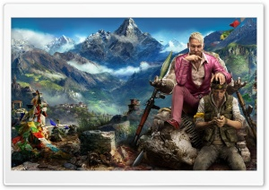 Far Cry 4 Himalaya HD Wide Wallpaper for Widescreen