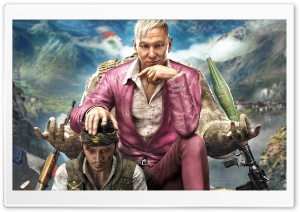 Far Cry 4 Pagan Min HD Wide Wallpaper for Widescreen