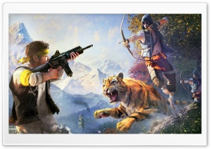 Far Cry 4 Weapons HD Wide Wallpaper for Widescreen