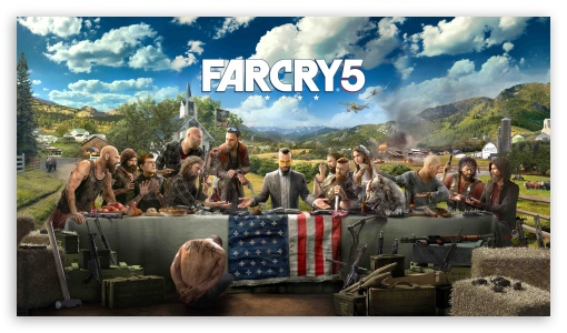 Far Cry 5 4k 8k Ultra Hd Desktop Background Wallpaper For 4k Uhd Tv