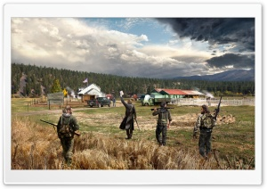 Far Cry 5 Concept Art HD Wide Wallpaper for Widescreen