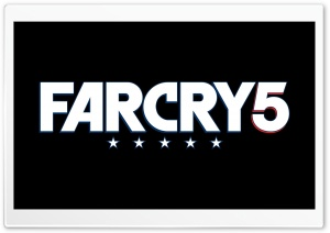 Far Cry 5 Logo Ultra HD Wallpaper for 4K UHD Widescreen desktop, tablet & smartphone