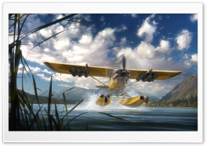 Far Cry 5 Seaplane HD Wide Wallpaper for 4K UHD Widescreen desktop & smartphone